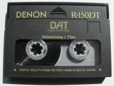 000-305 / DENON R-150 DT Professional DAT Kassette (1A USED)