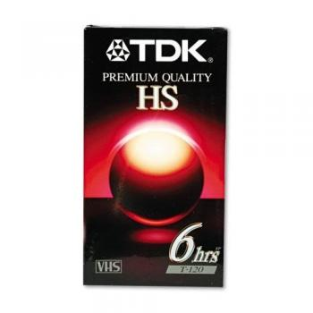 000-365 / TDK T-120 HS Premium Quality VHS Video Kassette OVP NEU SEALED