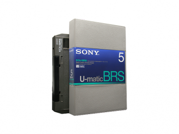 000-442 / SONY KCA-5 BRS (large) U-MATIC Professional Video Kassette NEU