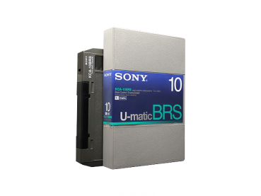 000-443 / SONY KCA-10 BRS (large) U-MATIC Professional Video Kassette NEU