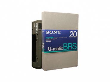000-444 / SONY KCA-20 BRS (large) U-MATIC Professional Video Kassette NEU