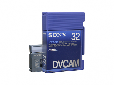 000-529 / SONY PDVM-32N DVCAM (Mini) Professional Video Kassette NEU