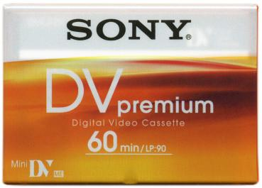 000-658 / SONY 60min PREMIUM Mini-DV Camcorder Video Kassette (DVM60PR4)NEU