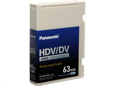 000-660 / PANASONIC AY-HDVM 63 AMQ HDV /DV Profi Video Kassette SEALED