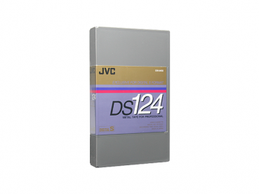 000-680 / JVC DS 124 D9 (digital-s) Professional Video Tape NEU