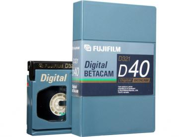 000-693 / FUJI D321-D40 (small) DIGITAL BETACAM 40Min Professional Video Kassette NEU