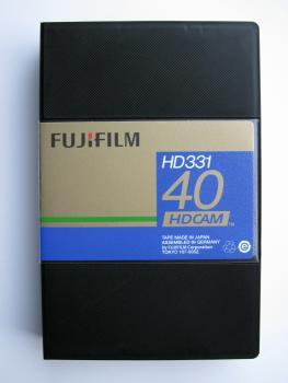 000-746 / FUJI HD331-40S (small) HDCAM 40min Profi Video Kassette NEU