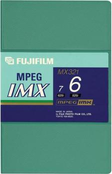 000-754 / FUJI MX 321 6 (small) MPEG IMX Professional Video Kassette NEU
