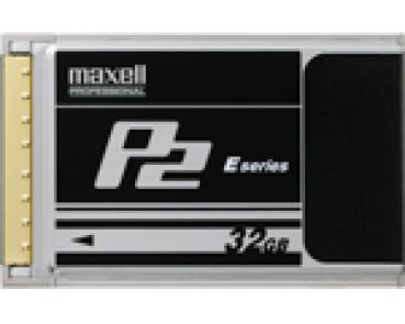001-155 / MAXELL P2C-32E - 32GB P2 Card E-Series (22926800) NEU