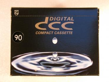 001-297 / 20 St?ck PACK PHILIPS 90 DCC Digital Compact Kassetten SEALED