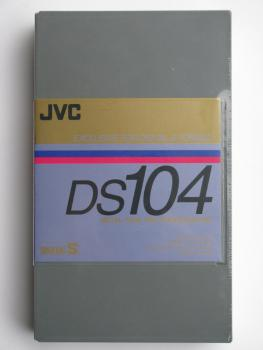 002-567 / JVC 104min Digital-S (D9) Metal Tape for Professional Cassette (DS-104AU) NEU