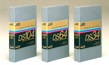 002-569 / JVC DS 64 Digital S (D9) Professional Video Kassette NEU