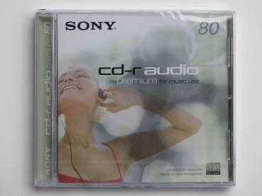 002-924 / SONY Audio CD-R CRM-80 Premium for Music Use Write Once NEU