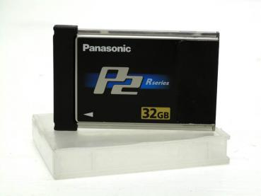 "002-930 / PANASONIC P2 Card 32GB ""R Series"" (AJ-P2C032) NEU"