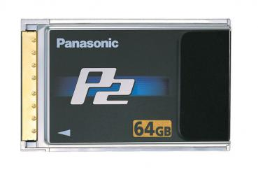 "002-931 / PANASONIC P2 Card 64GB ""R Series"" (AJ-P2C064) NEU"