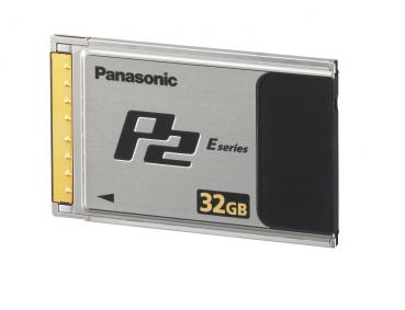 "002-933 / PANASONIC P2 Card 32GB ""E Series"" Speicherkarte NEU"