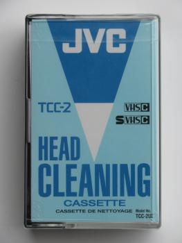 003-360 / JVC TCC-2UX CLEANING CASSETTE for VHS-C & S-VHS-C NEU