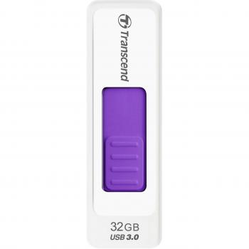 003-937 / TRANSCEND USB 3.0 Jetflash770 32GB white/purple (TS32GJF770) NEU