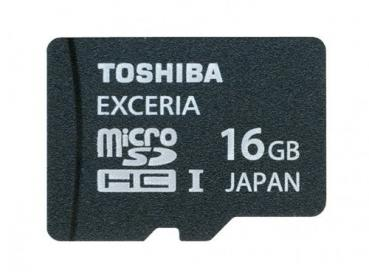 004-178 / TOSHIBA microSDHC Class10 16GB Exceria Ultra High Speed UHS-I (SD-CX16HD-BL7) NEU