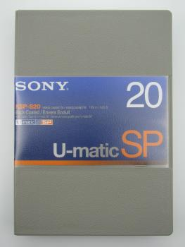 004-792 / SONY KSP-S 20 UMATIC SP (small) Professional Video Kassette NEU