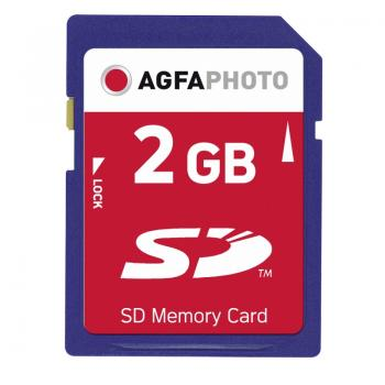 "005-406 / AGFA SD Card Duo 2GB Class0 ""Afro Girl Cover"" (10404) NEU"