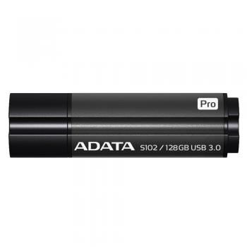 009-416 / ADATA USB 3.0 Stick 128GB S102 ProGrey (AS102P-128G-RGY) NEU