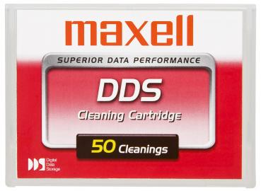 009-464 / MAXELL DDS Reinigungskassette Cleaning Cartridge up to 40-50 times (HS-4/CL-XJ) NEU