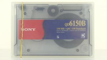 009-484 / SONY QIC Quarter-Inch Cartridge 150MB 189m/620ft (QD6150B//K-AE) NEU
