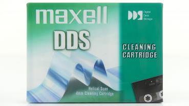 009-491 / MAXELL DDS Reinigungskassette - 4mm Cleaning Cartridge - Helical Scan NEU