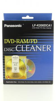 010-162 / PANASONIC Disc Cleaner Linsenreiniger DVD-RAM/PD (LF-K200DCA1) NEU