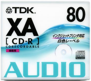 010-179 / TDK Audio CD-R Disc WriteOnce 80min 700MB JEWEL (CD-RXA80PWN) NEU