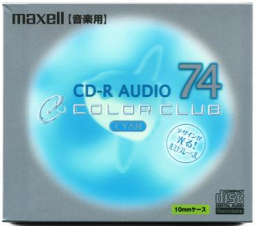 010-194 / MAXELL Audio CD-R Disc WriteOnce 74min 1x24x (CDRA74C.CY1P) NEU