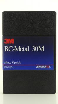 010-478 / 3M BC-Metal 30min (small) BETACAM SP Professional Video Cassette (30M) NEU