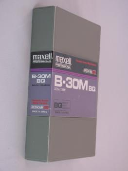 010-487 / MAXELL 30min BETACAM SP Professional Video Kassette (B-30MBQ) USED