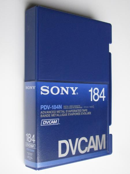 SONY DVCAM TAPES PDV-184N SONY 184min DVCAM standard