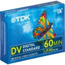 005-479 / TDK 60min Digital Standard Mini-DV Camcorder Video Kassette (DVM-60MEEC) OVP NEU